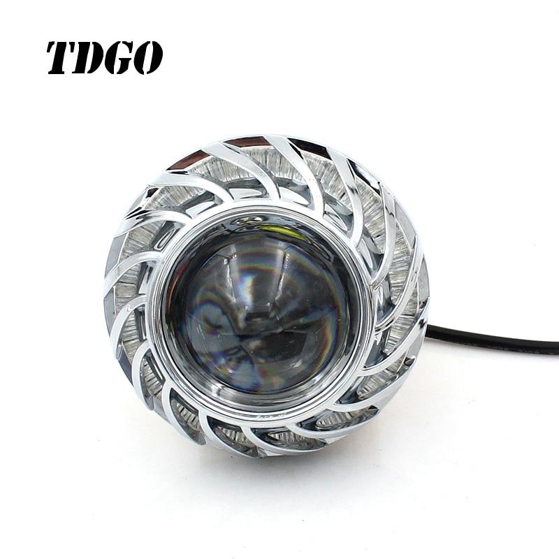 Tdgo Motorrad Scheinwerfer Lampen Led 12 80 V 1200lmw Hilfs Lampe