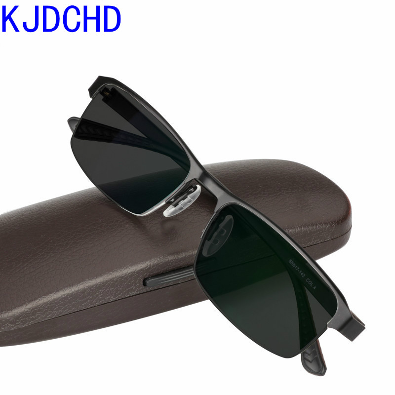 2019 New Titanium Alloy Sunglasses Transition Photochromic Reading Glasses For Men Women Diopters Presbyopia Glasses