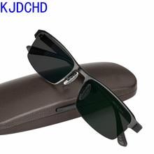 2019 New Titanium Alloy Sunglasses Transition Photochromic Reading Glasses for Men Women diopters Presbyopia Glasses