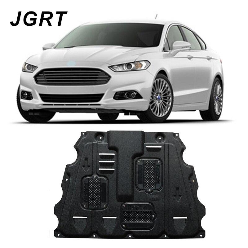 Car styling Per Ford Fusion Plastica acciaio engine guard 2013-2017 Per Mondeo Motore skid piastra parafango 1 pz