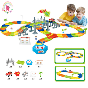 Children Assemble Insert Track