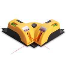 High quality 90 degree right angle laser level instrument measurement Mexico line level of foot Measuring