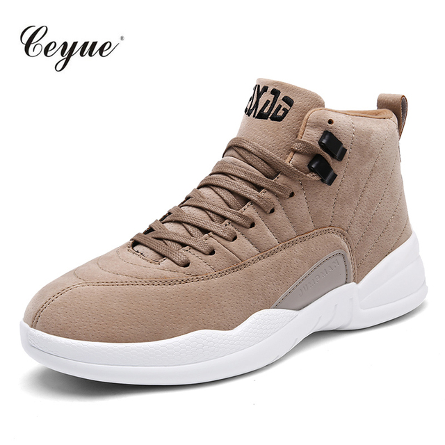 2017 Men Basketball Shoes Professional Sneakers High Tops Men Ankle Boots Athletics Basket Shoes zapatillas deportivas mujer