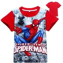 New Short Sleeve t shirt Children Batman v Superman Movies Printing Boys Clothes T-Shirts For Boys Kids Baby Children's Clothing
