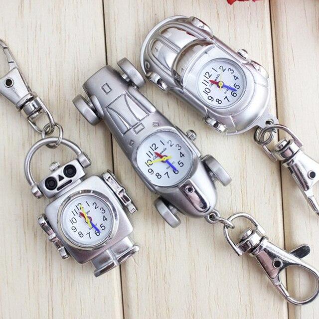chaoyada New Fashion Vintage silver Punk Steampunk Quartz Pocket Watch Cute Love