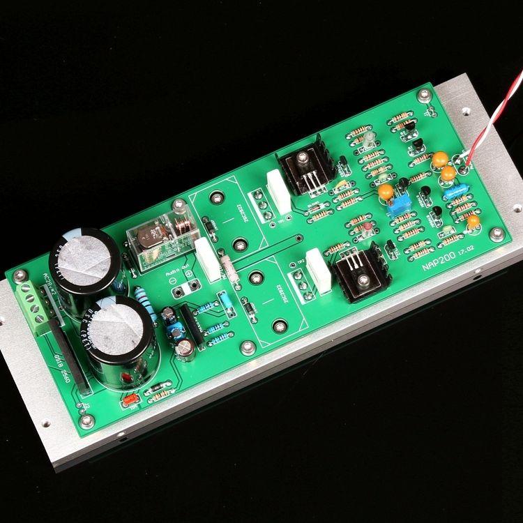 ZEROZONE Assembeld Mono NA 2 Power Amplifier Board Base On Naim NAP200 Amp 75W Mono Board
