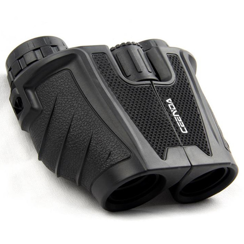 Binoculars 10x25 Powerful BAK4 Prism Binocular Handheld Telescope Long Zoom Military HD Professional Hunting Tools