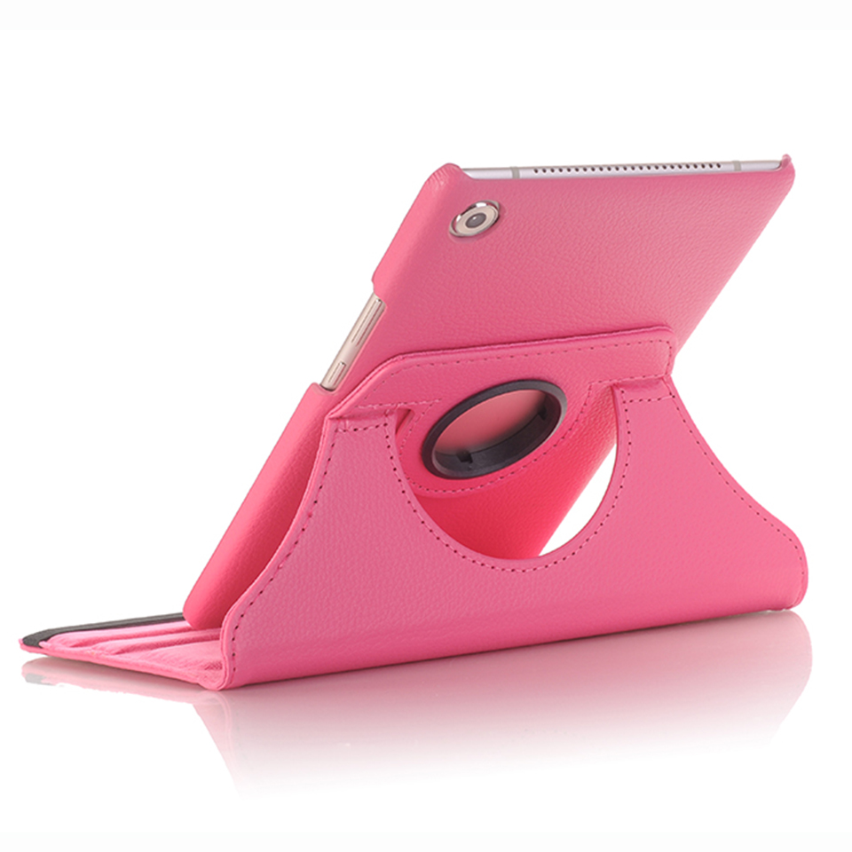 360 Rotating PU Leather Case For Huawei Mediapad M5 8.4 Inch SHT-W09 SHT-AL09 Tablet Cover Stand Case For Huawei M5 8.4