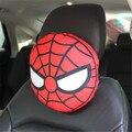 1 UNIDS Felpa Corta Asiento de Coche Cuello Almohada de Dibujos Animados Lindo Coche Almohadas Almohadas Reposacabezas de Coche Universal Spiderman Juguetes de Frutas