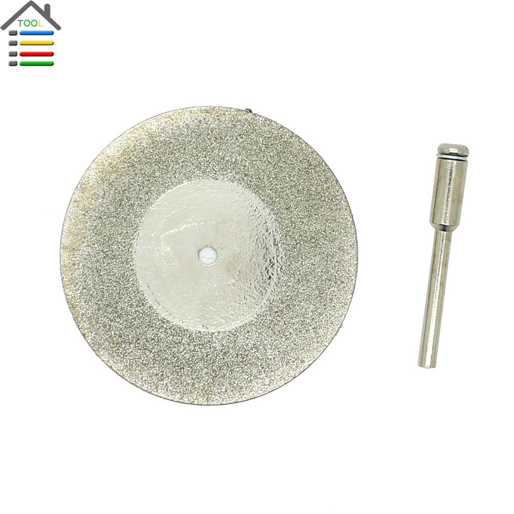 2 inch (50mm) Diamond Cut Cutting Disc Wheel Blade Fits Dremel Grinder Grinding Rotary Tool - AUTOTOOLHOME Store store