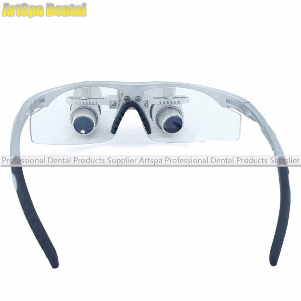 6,0X420 мм медицинские лупы бинокулярный стоматологический Лупа стоматологические лупы очки Новые - 2
