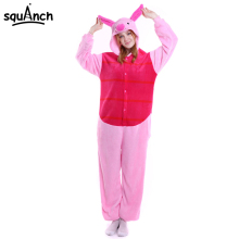 Women Onesie Piglet Animal Cartoon Pink Pig Pajama Kugurumi Adults Kids  Size Sleepwear Overalls Winter Girls Lovely Party Suit 015779701