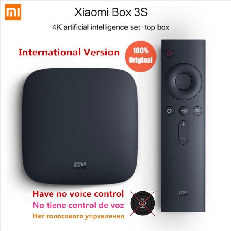 Multi language Global Version Xiaomi Mi TV Box 3 Android 6 0