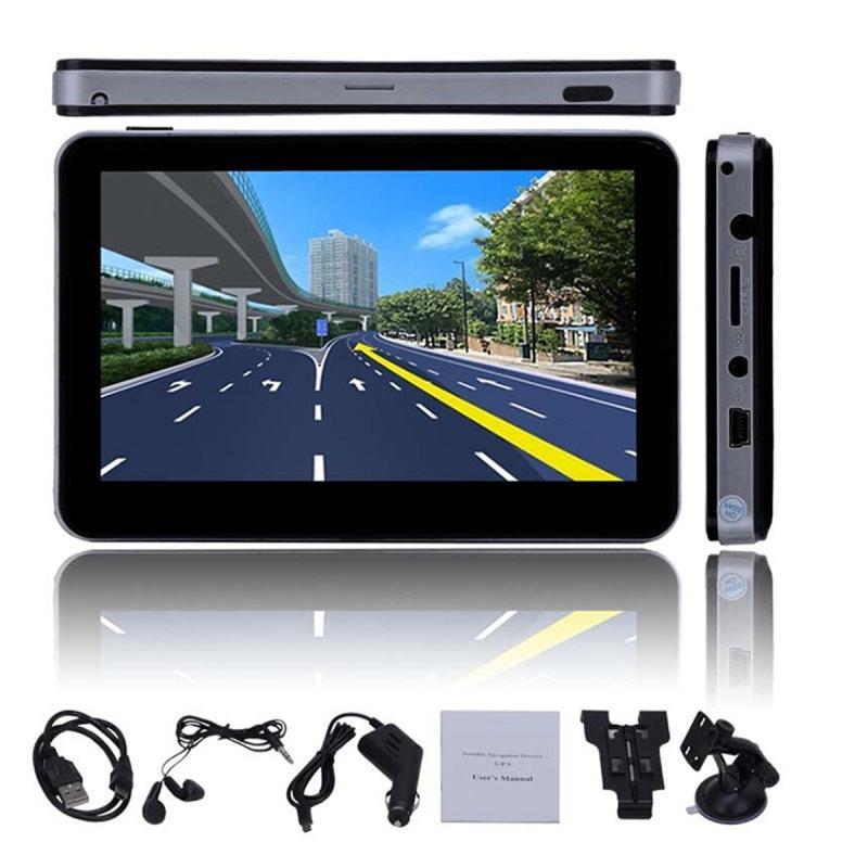 New 5 4GB HD Screen Car GPS Navigation Navigator SAT NAV Free US Maps Updates