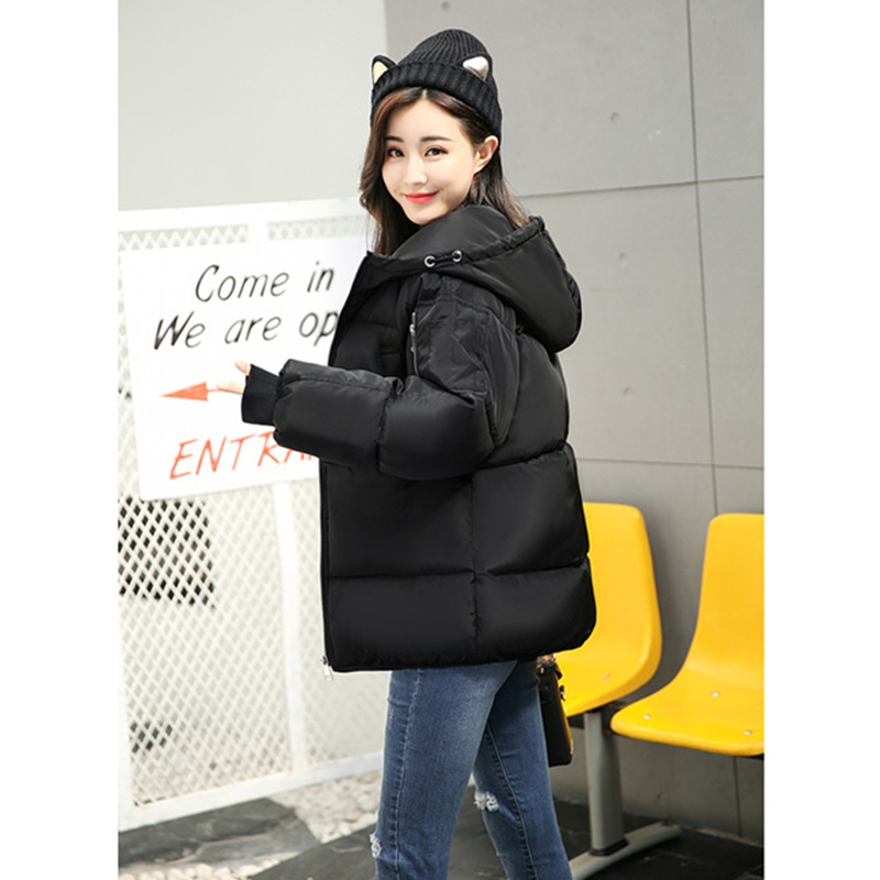 2017 NEW WOMEN WINTER JACKETS THICKEN PLUS SIZE SHORT COAT COTTON PADDED WARM LOOSE FEMALE PARKAS HIGH QUALITY HOT SALE ZL392