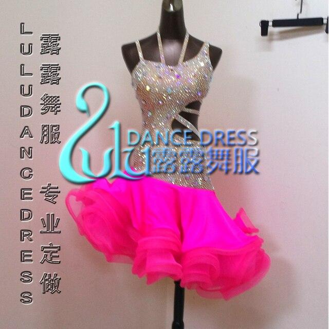 Aliexpress.com: Comprar Vestido latino vestido Latino de La Piel El ...
