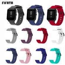 Силиконовый ремешок fifata для xiaomi amazfit bip gts s 2 часы
