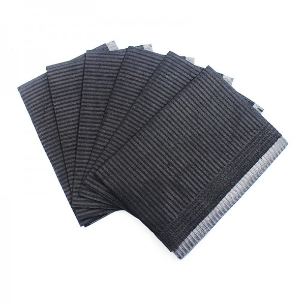 125pcs Black Tattoo Cleaning Wipes Disposable Table Mat Waterproof Tissues Sheets Paper for Dentists Tattoo Piercing 13X18 inch in Tattoo accesories from Beauty Health
