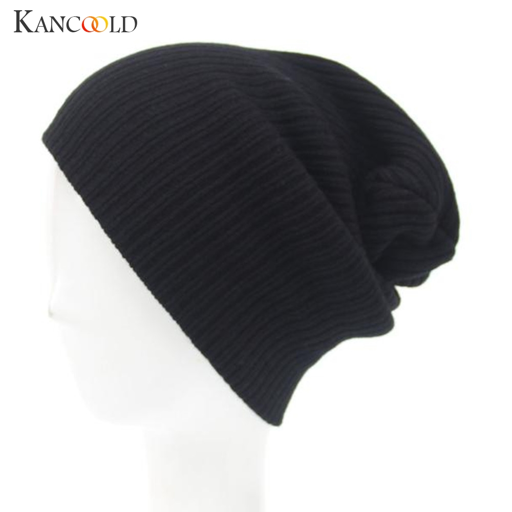 Winter Fashion New Brand Warm Hoed Unisex Wool Knit  Beanie Hat Cap Beanie Boys And Girls Skull Hat Nov 1 the new children s cubs hat qiu dong with cartoon animals knitting wool cap and pile