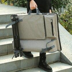 Большая художественная сумка для рисования доска для рисования набор Дорожная сумка для эскиза инструменты для рисования холст для рисова...