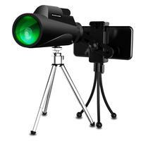 Creative Fashion 12x50 BAK4 Monocular Telescope HD Mini Monocular Outdoor Hunting Low light Camping Scopes