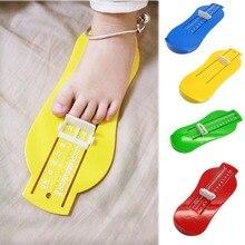 Калибровочные фитинги измеритель малышей ноги обуви ребенок детская цветов детей обувь