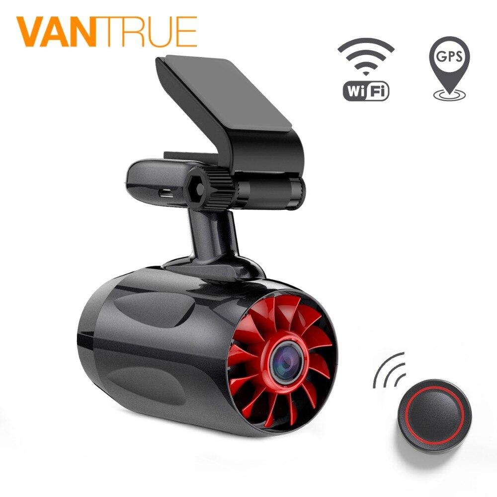 Vantrue T1 Car DVR Camera WIFI Speed N GPS coordinates 1080P HD Night Vision Dash Cam
