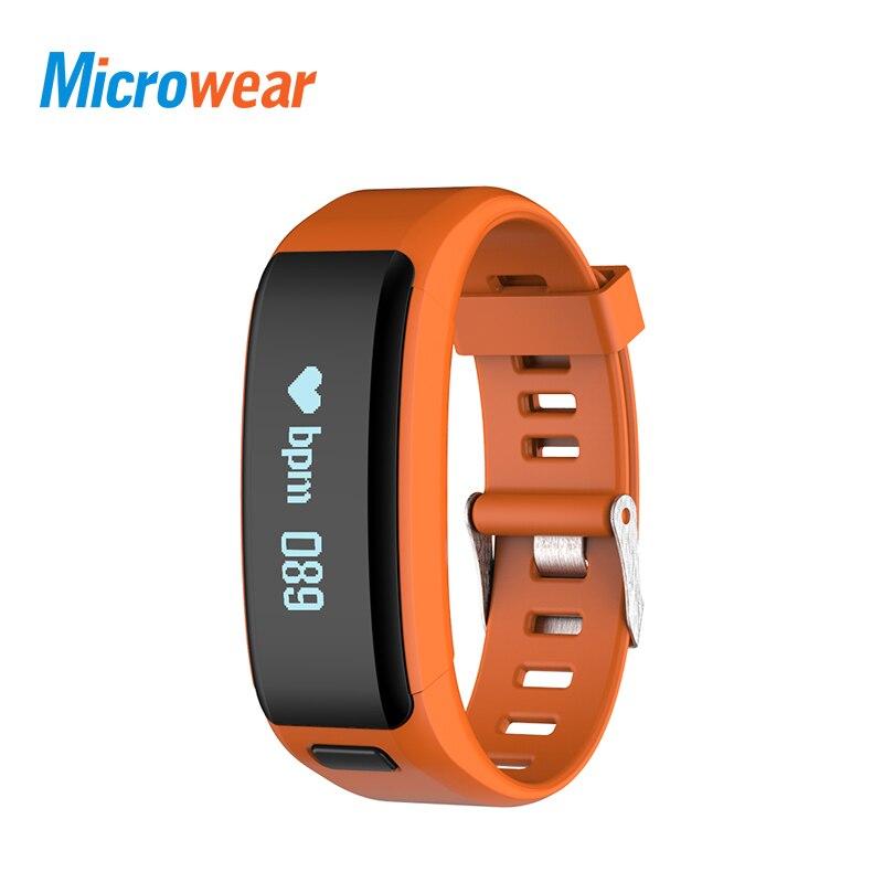 Wristband, Smart, Bracelet, Pedometer, Standby, Rate