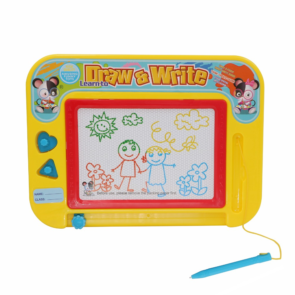 Magnetic Drawing Board Puzzle Magic Color Pen Drawing Toy
