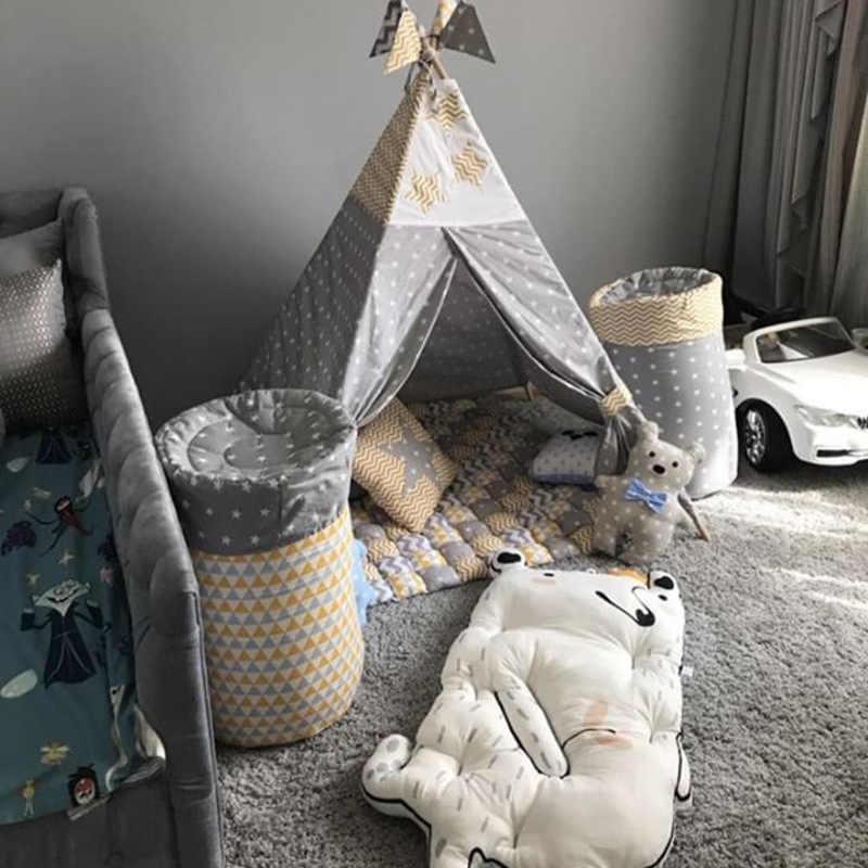 ปีนเขา MAT Creeping ผ้าห่มเตียงเด็กโซฟา Crib ฤดูหนาวเล่นชั้นเด็ก INS เด็กวัยหัดเดินฝาครอบพัฒนาของเล่นพรมเบาะเลิก