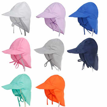 XDOMI New Kid's UPF 50+ UV Sun Hat Neck Ear Cover Flap Cap for Girls /Boys Summer Breathable Beach Hat Adjustable Swimming cap - DISCOUNT ITEM  0% OFF All Category