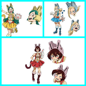 Image 5 - My Hero Academia Mandalay Bob Pussycats Ragdoll Tiger Cosplay, accessoire pour casque Boku No Hero academic, accessoire pour Cosplay