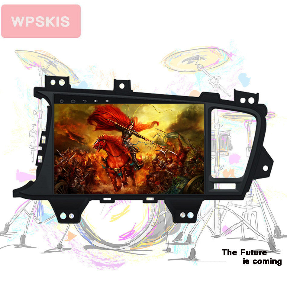 Octa Core Android 9.0 HD 1024*600 screen Car Video Audio a/v entertainment system pc media monitor  for KIA K5/OPTIMA Headunit