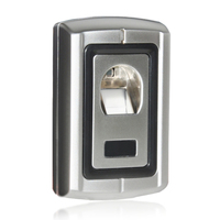 Remote Control Fingerprint 125KHz RFID ID Card Reader Two In One Door Lock Access Controller Kit