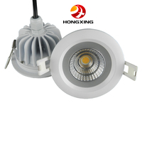 6pcs Lot New Arrival 9W Waterproof IP65 Dimmable Led Downlight Cob 9W Dimming LED Spot
