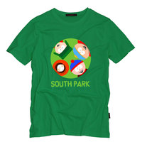 South Park Eric Kyle Stan Kenny Printed T Shirts Women/Men Funny Design Tshirts Summer Cotton Fashion Short Sleeve Tops Tees