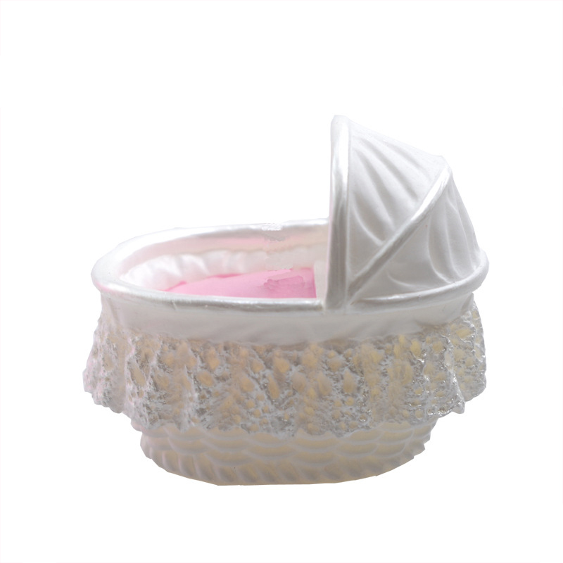 3d nueva diy cochecito de bebé cesta de chocolate moldes de silicona jalea jello
