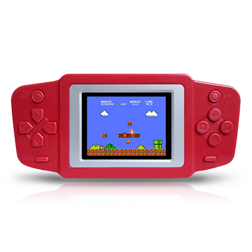 Handheld coloring games for toddlers - New Portable Video Game Handheld Player 8 Bit Classic Games Gamepad Children S Puzzle Game Console 268