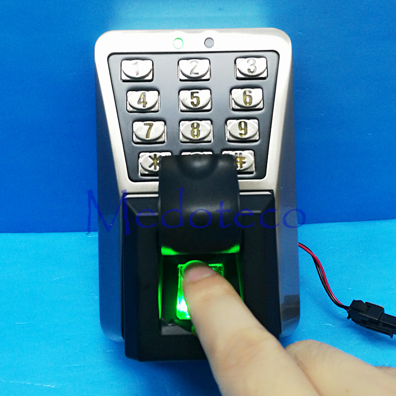 Tcp/ip Waterproof IP65 Outdoor fingerprint Access Control Outdoor Access Control with rfid Card Access Controller TF1100 biometric fingerprint access controller tcp ip fingerprint door access control reader