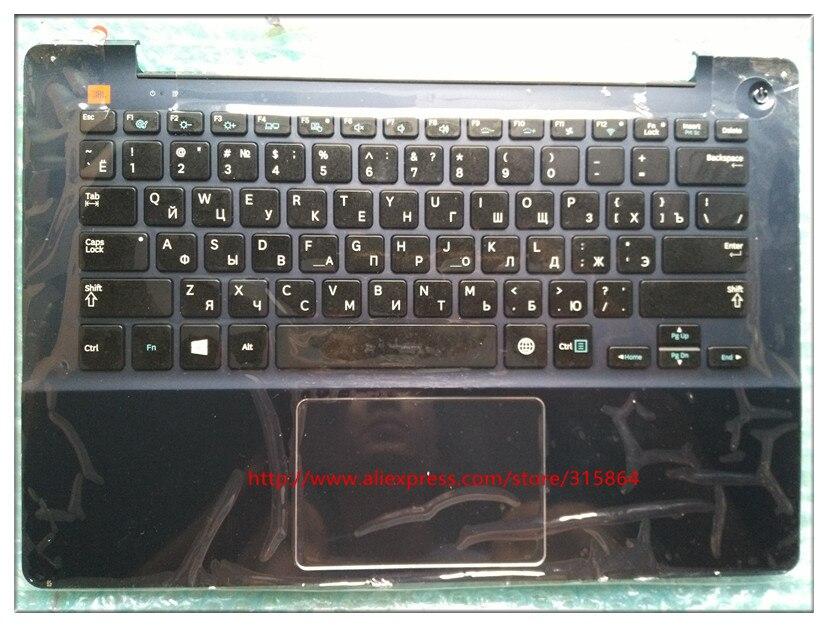RU Русский Макет НОВОЕ Клавиатура для ноутбука Samsung np740u3e 740U3E 730u3e BA75-04621C черный/серебряный