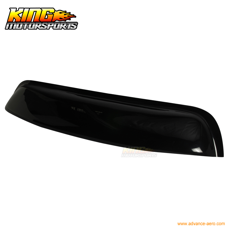 For 95 96-99 Nissan Maxima A32 4-Door OE Rear Roof Window Visor Spoiler Wing