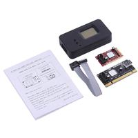 Tmddotda Mini PCI E Riser Card LED Digital Tube EFI BIOS Chinese Display Diagnostic Card PCI Express PCI LPC PC Analyzer Tester
