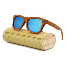2017 New Fashion Men Women Polarized Bamboo Sunglasses Wooden Retro Vintage Summer Glasses for Driving Mirror Coating Lens WT01