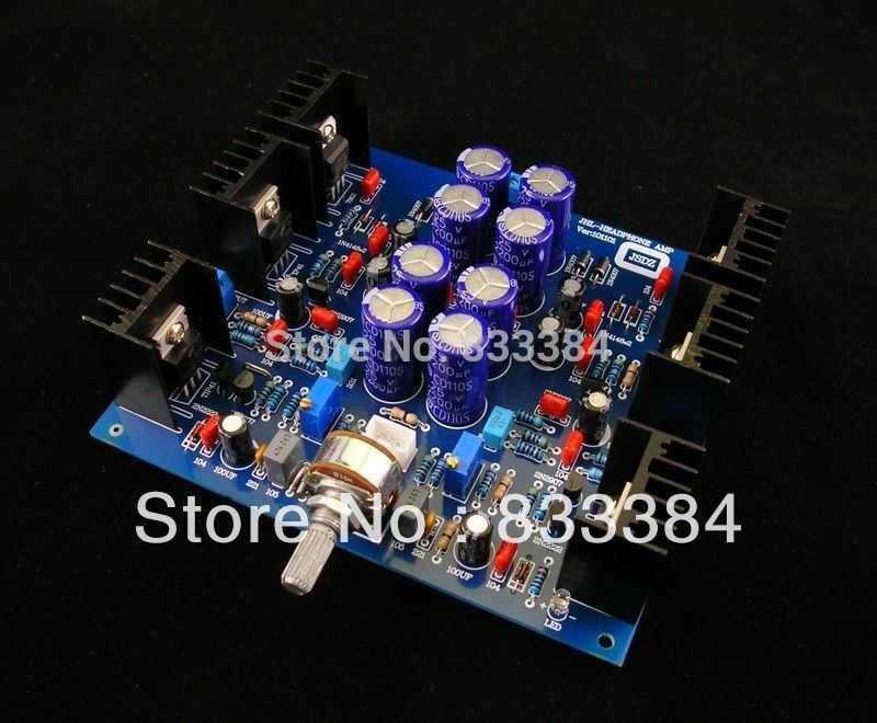 цена на Free shipping New JHL headphone amplifier class A Preamp DIY KIT