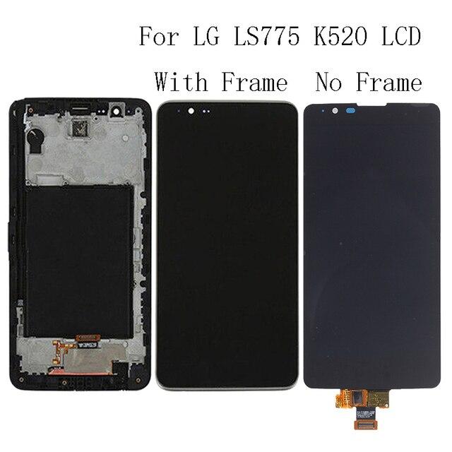 """5.7 """"AAA สำหรับ LG ls775 K520 จอแสดงผลจอ lcd แผงกรอบชุดซ่อมเปลี่ยนชิ้นส่วนโทรศัพท์ + จัดส่งฟรี"""