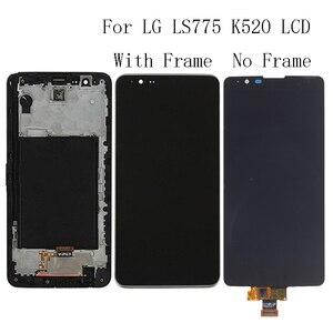 """Image 1 - 5.7 """"AAA Per LG ls775 K520 LCD Display Touch Screen di Vetro del pannello con Cornice Kit di Riparazione di Ricambio Parti Del Telefono + trasporto Libero"""