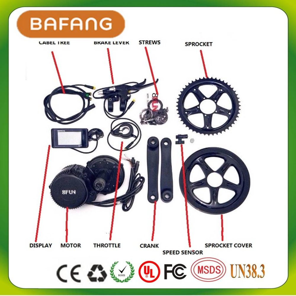 48v 350w 8fun Bafang C961 Motor Bbs01 Crank Trike Ebike Kits Wiring Diagram In Electric Bicycle From Sports Entertainment On Alibaba Group