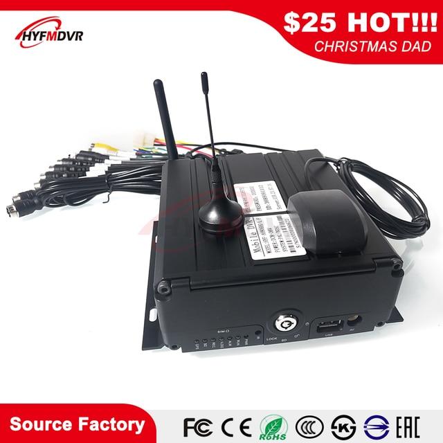 4G GPS WIFI Mobile DVR large tension DC8V-36V CMSV6 plate-forme de surveillance véhicule dingénierie/voiture privée/véhicule utilitaire