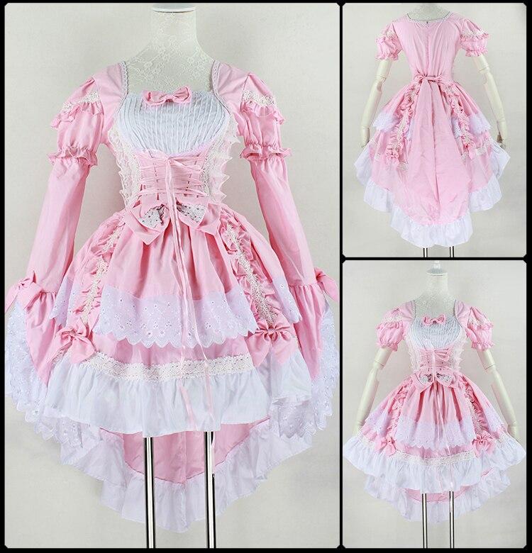 Aliexpress.com : Buy New Fashion Gothic Maid Cosplay Costume Anime ...