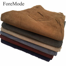 Year2017 New Men Straight Corduroy Trousers for Leisure Business Men's Cotton Pants